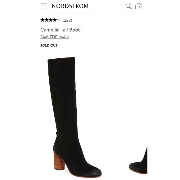 033cbbe59ba3cf  NEW IN BOX  Sam Edelman Camellia Boots